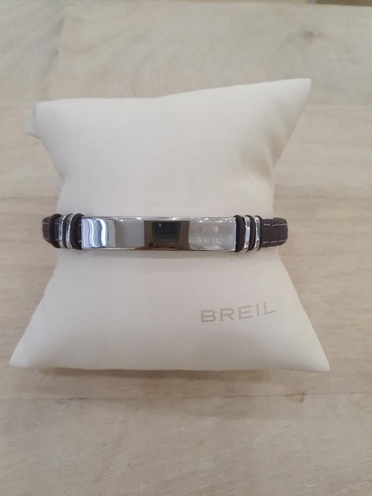 Bracciale Breil TJ1976 in acciaio e silicone collezione Savage