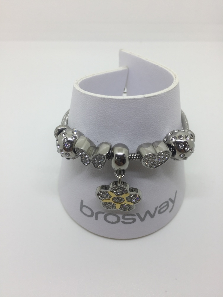 bracciale Brosway composta da piccoli beads colorati e brillanti
